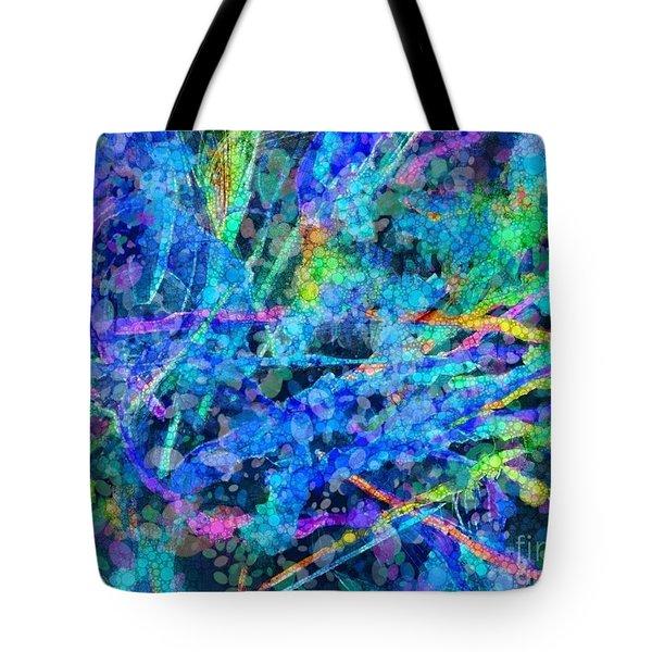 Waterfall Tote Bag by Nancy Aikins