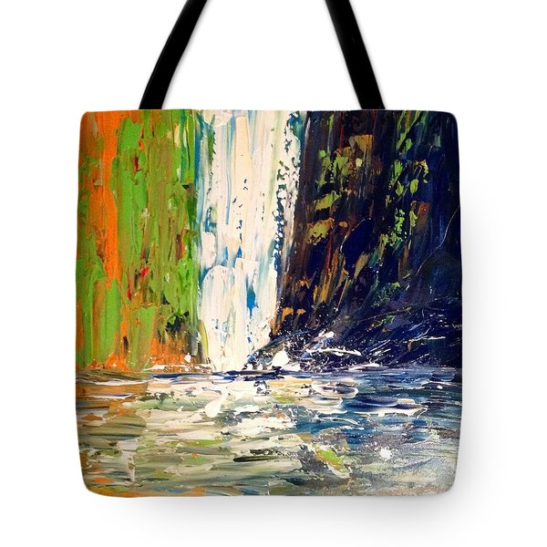 Waterfall No. 1 Tote Bag