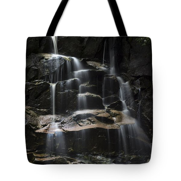 Waterfall On Small Stream Tote Bag by Dan Friend