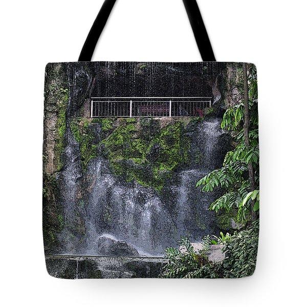 Waterfall Tote Bag by Sergey Lukashin