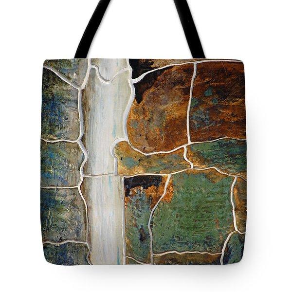 Waterfall Slate Tote Bag by Holly Blunkall