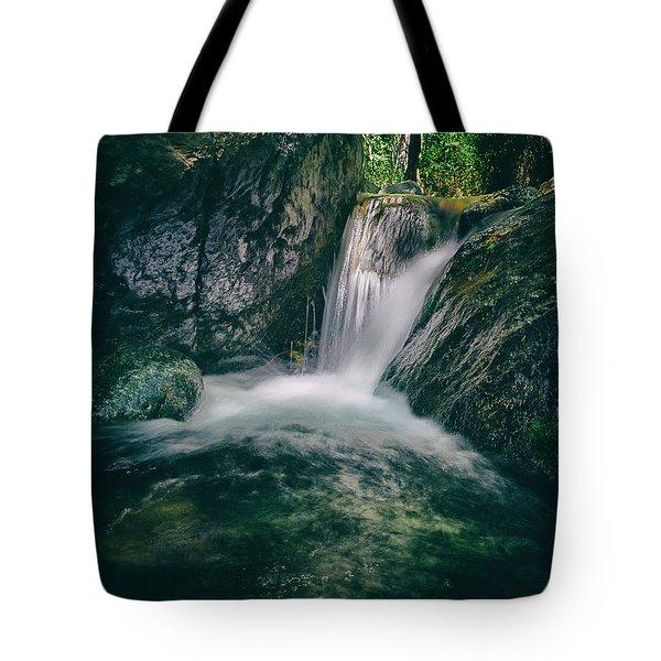 Waterfall Tote Bag by Stelios Kleanthous