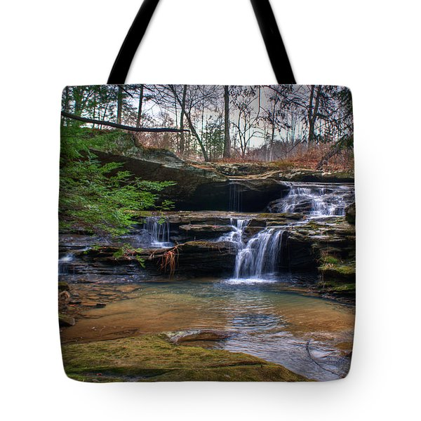 Waterfalls Cascading Tote Bag