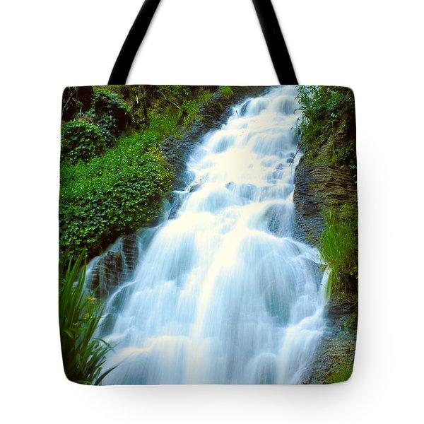 Waterfalls In Golden Gate Park Tote Bag