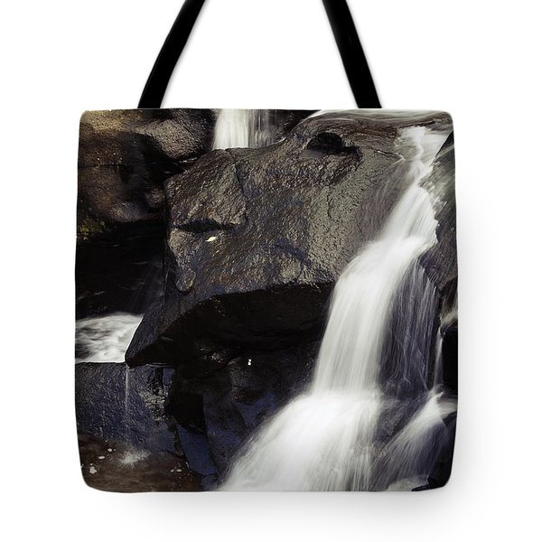 Waterfalls Tote Bag by Les Cunliffe