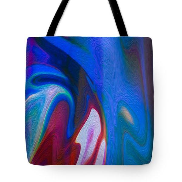 Waterfalls Of Desire Tote Bag by Omaste Witkowski