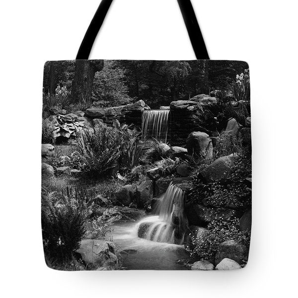 Waterfalls On The Mr J B Van Sciver Estate Tote Bag