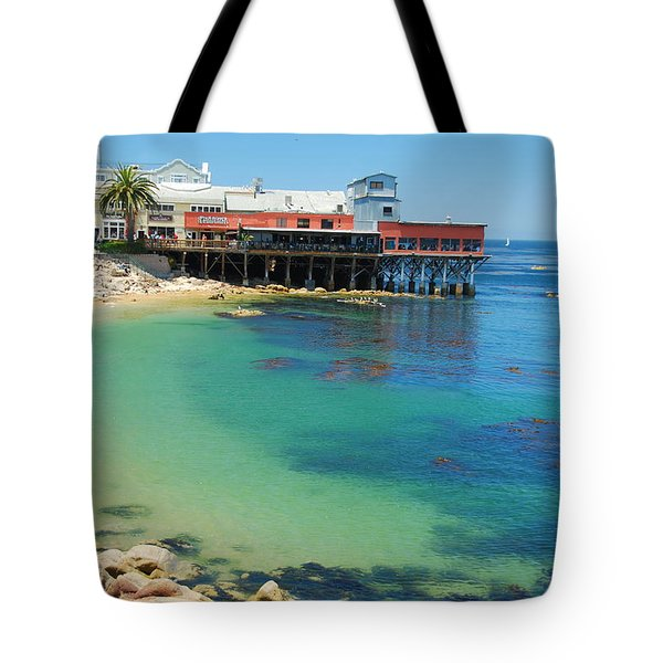 Waterfront At Cannery Row Tote Bag