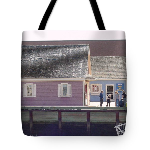 Waterfront Colors Tote Bag
