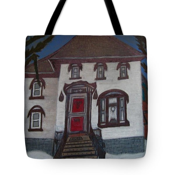 Historic 7th Street Home In Menominee Tote Bag