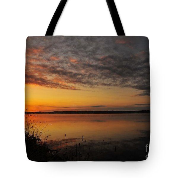 Waterfront Dawn Tote Bag