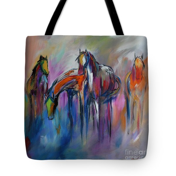 Watering Hole Tote Bag by Cher Devereaux