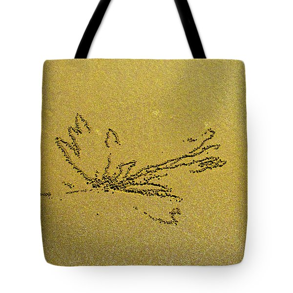 Waterlily By S. Crab Tote Bag by Jocelyn Kahawai