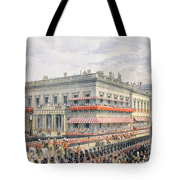 Waterloo Place And Pall Mall Tote Bag