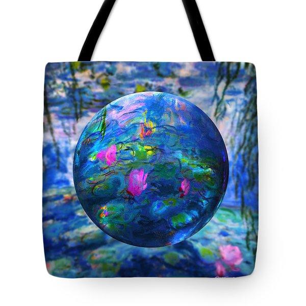 Lilly Pond Tote Bag