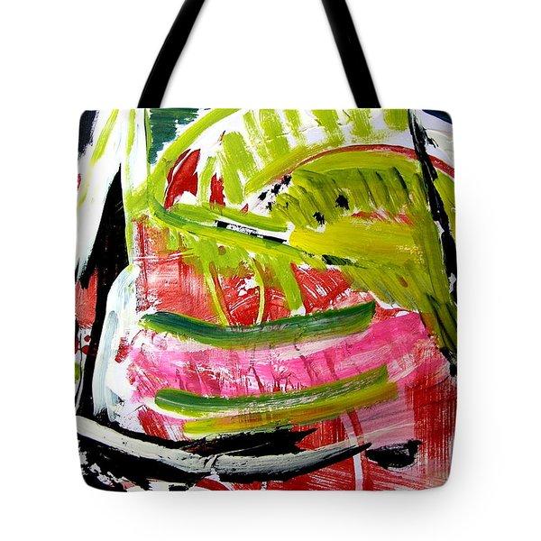 'watermelon' Tote Bag by Carol Skinner