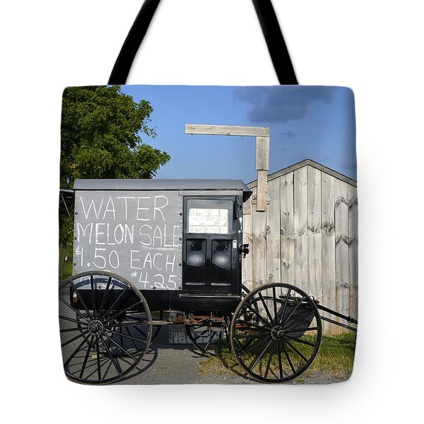 Watermelon Wagon Tote Bag