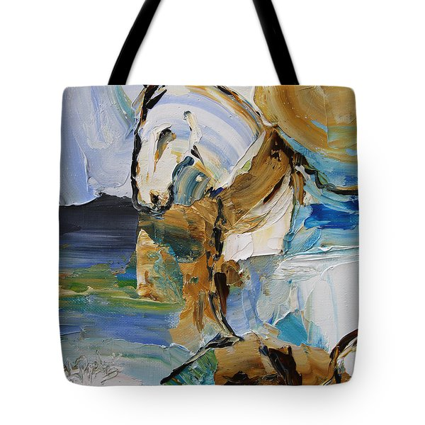 Waterplay Horse 9 2014 Tote Bag