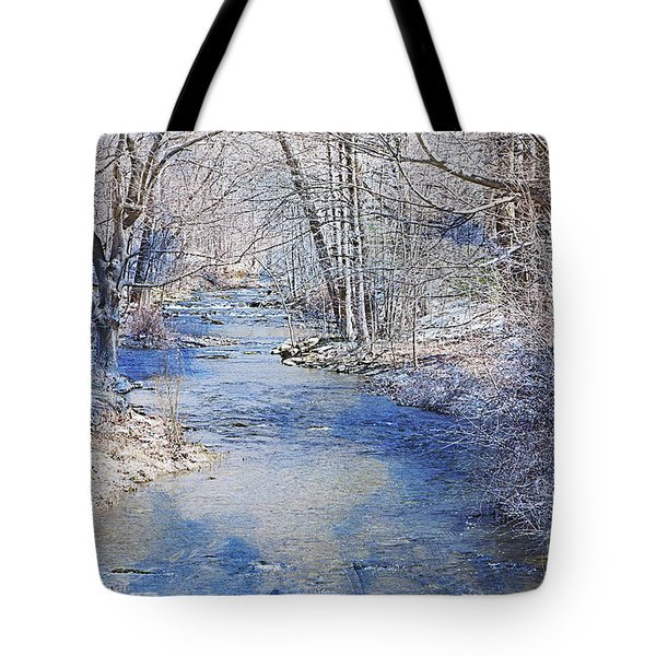 Water's Edge Tote Bag by A New Focus Photography