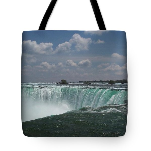Tote Bag featuring the photograph Water's Edge by Barbara McDevitt
