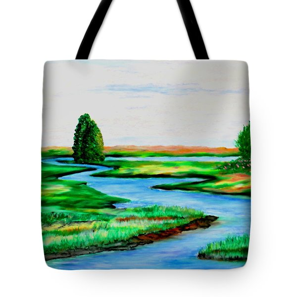 Waters Way Tote Bag