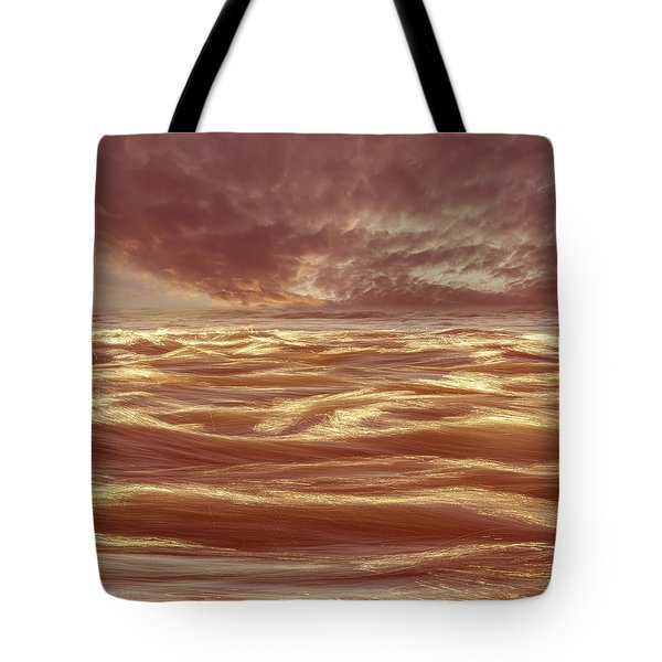 Waterscape Number Seven Tote Bag by Bob Orsillo