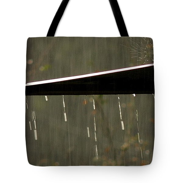 Tote Bag featuring the photograph Waterworks by Charlotte Schafer