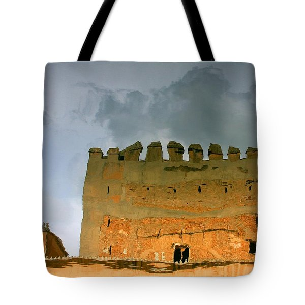 Watery Alhambra Tote Bag