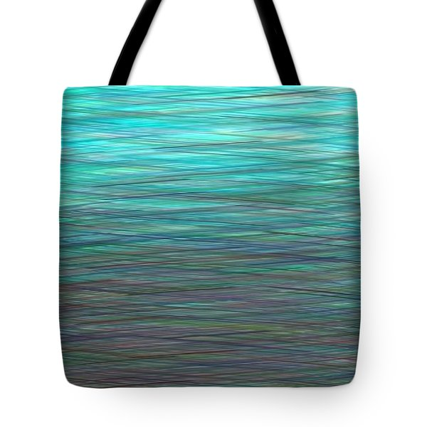 Watery Deep Tote Bag by Will Borden
