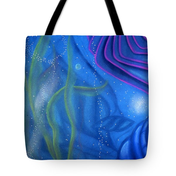 Watery Tote Bag