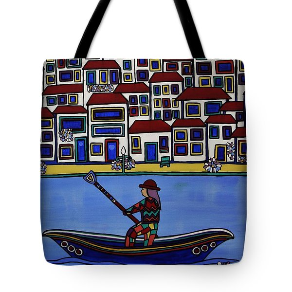 Watery Venice Tote Bag
