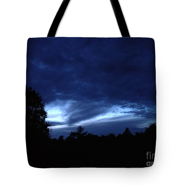 Watsonville Night Tote Bag
