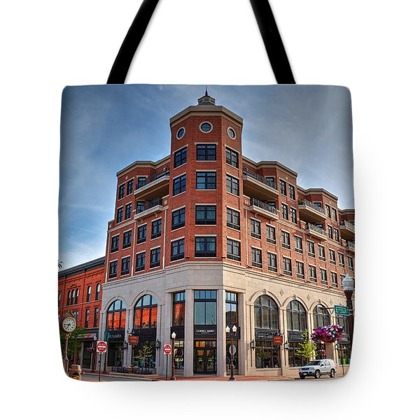 Tote Bag featuring the photograph Wausau-central Wisconsin Visitors Bureau by Dale Kauzlaric