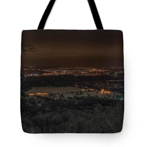 Wausau From On High Tote Bag