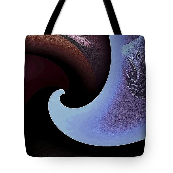 Wave 2 Tote Bag by Andrew Drozdowicz