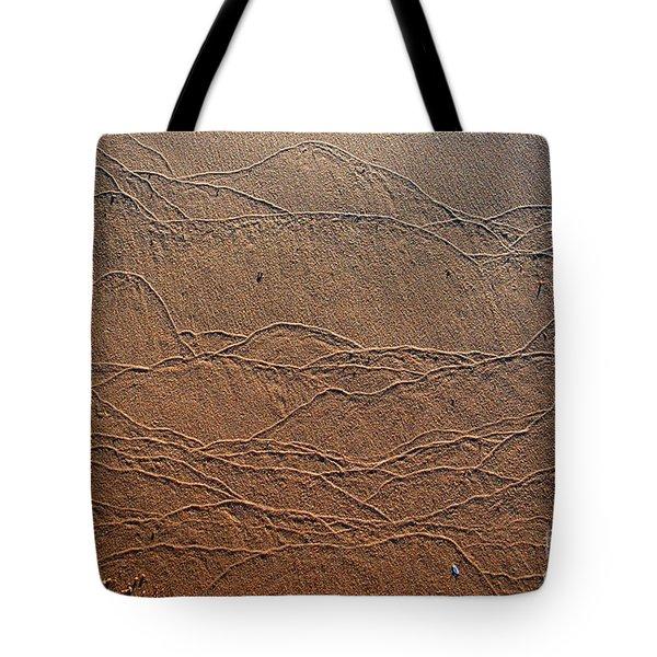 Wave Art Tote Bag