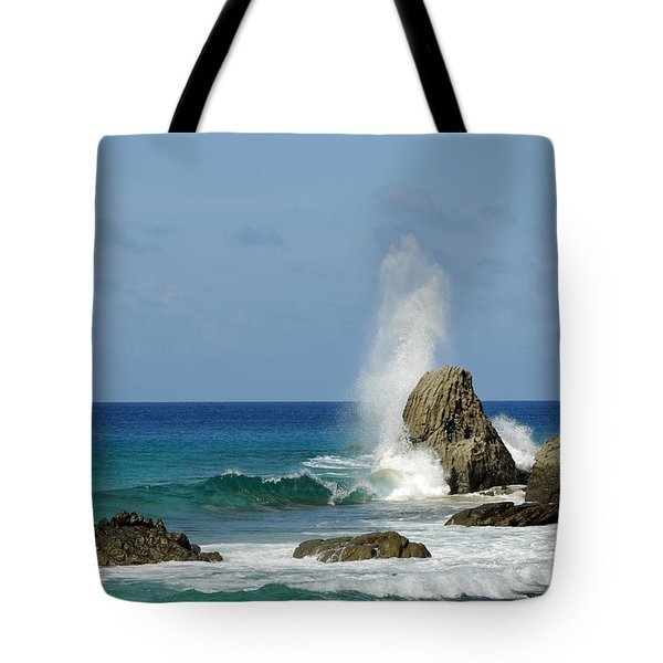 Wave At Boldro Beach Tote Bag