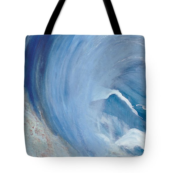 Wave Break Tote Bag by Heather  Hiland