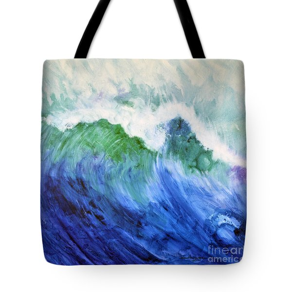 Wave Dream Tote Bag