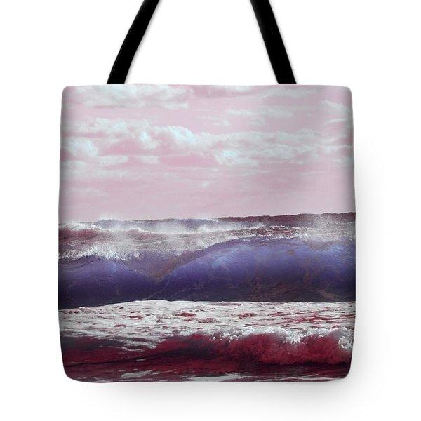 Wave Formation 2 Tote Bag
