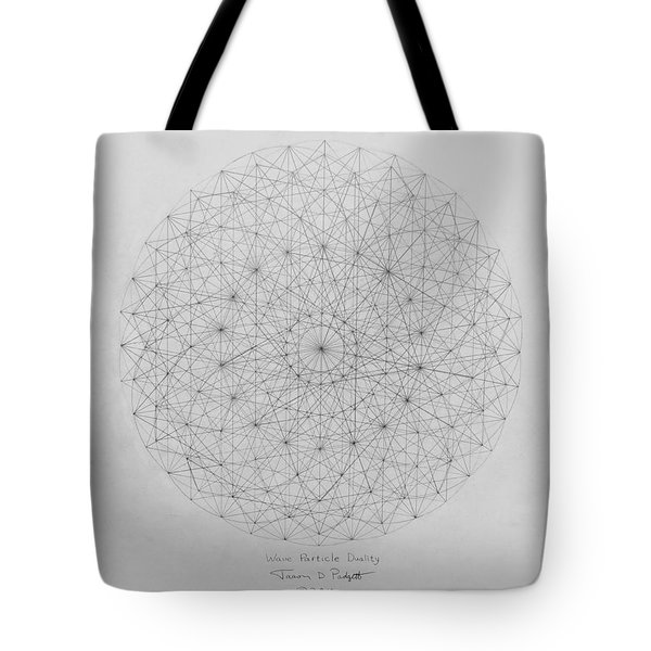 Wave Particle Duality Original Tote Bag by Jason Padgett
