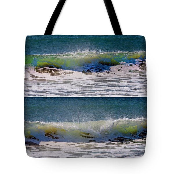 Wave Sequence Tote Bag