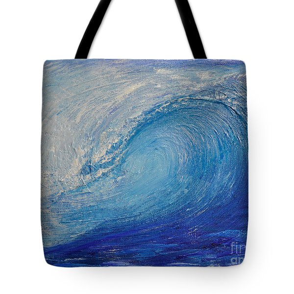 Wave Study Tote Bag