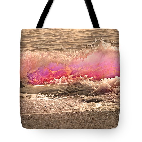 Wave The Storm Goodbye  Tote Bag