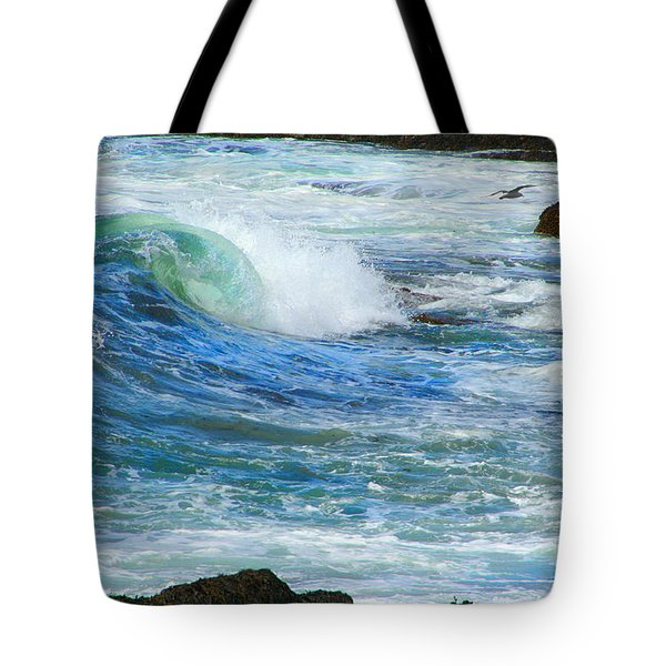 Wave To Me Tote Bag