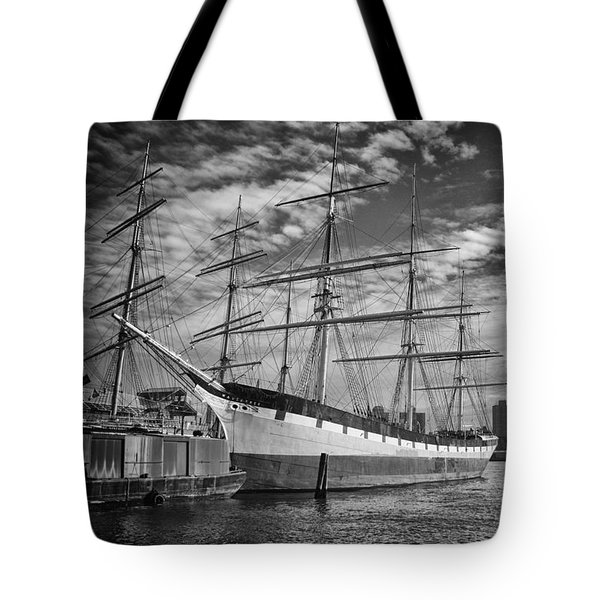 Tote Bag featuring the photograph Wavertree In Monochrome by Ben Shields