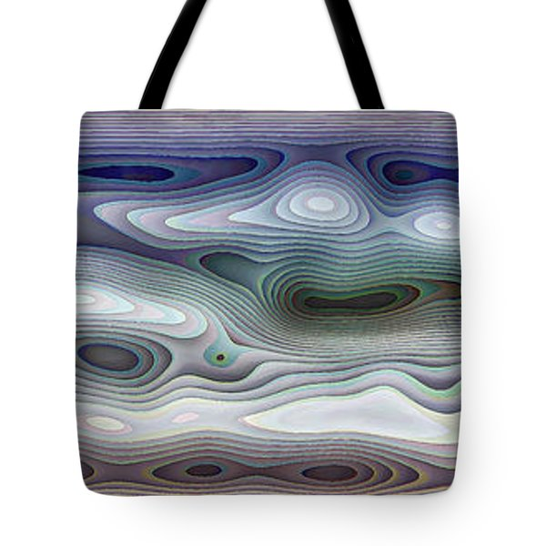 Abstract Waves 15 Tote Bag