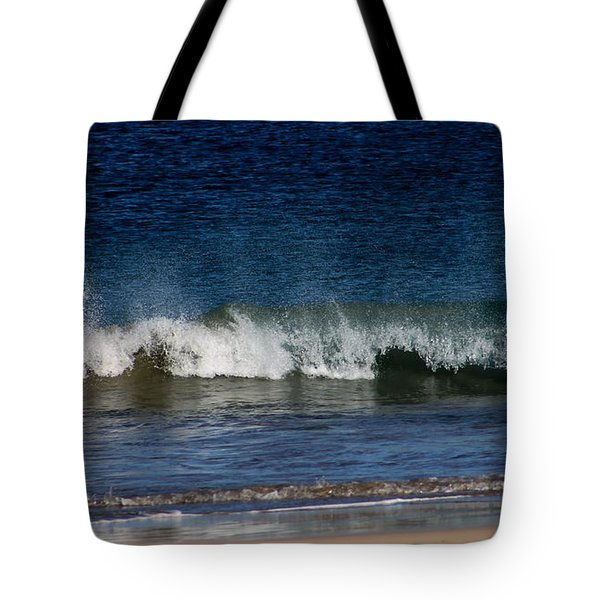 Waves And Surf Tote Bag