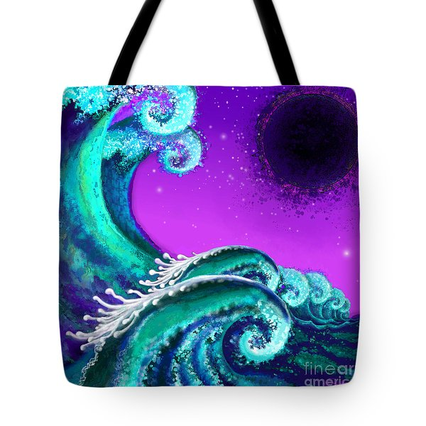 Waves Tote Bag by Carol Jacobs