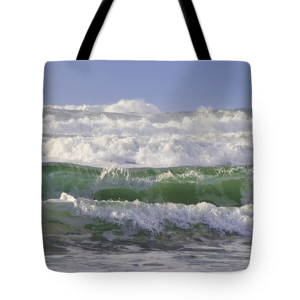 Waves In The Sun Tote Bag